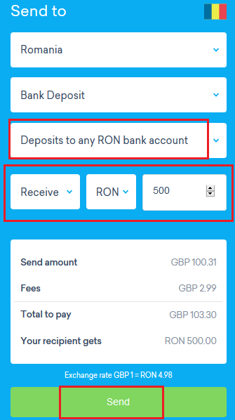 transfer bani worldremit transfer bancar alege ron