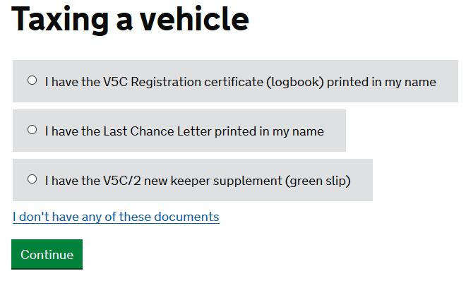 cum verifici asigurarea uk mot si road tax 10