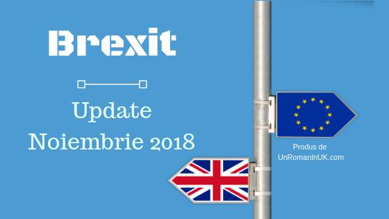 brexit update noiembrie 2018
