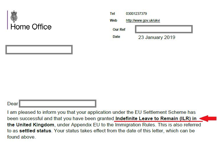 cum aplici pentru rezidenta in uk raspuns aplicatie 2