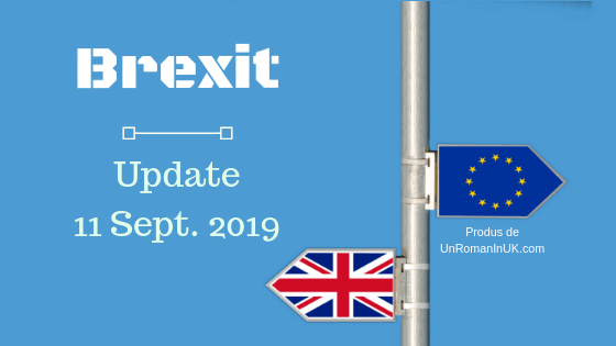 brexit update 11 septembrie 2019