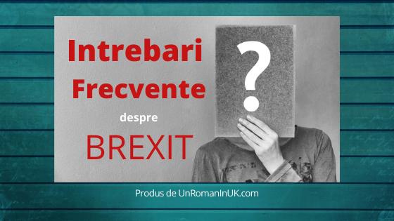 Intrebari Frecvente Brexit - Un Roman In UK