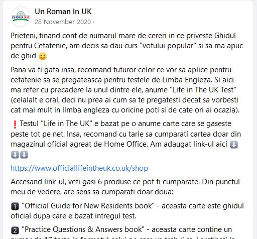test engleza cetatenie britanica 1